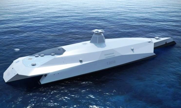 Eleazarlog: これが21世紀の英国海軍の未来? 弩級戦艦2050