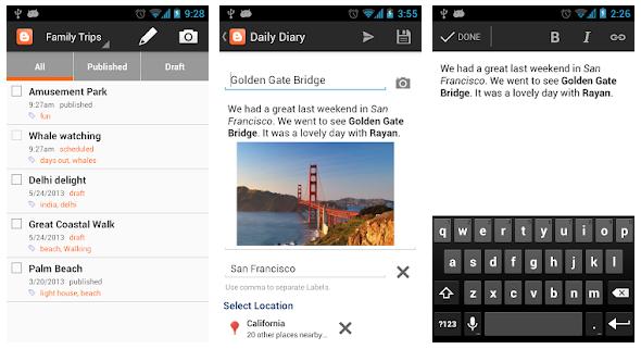 Aplikasi Android Yang Berguna Untuk Para Blogger