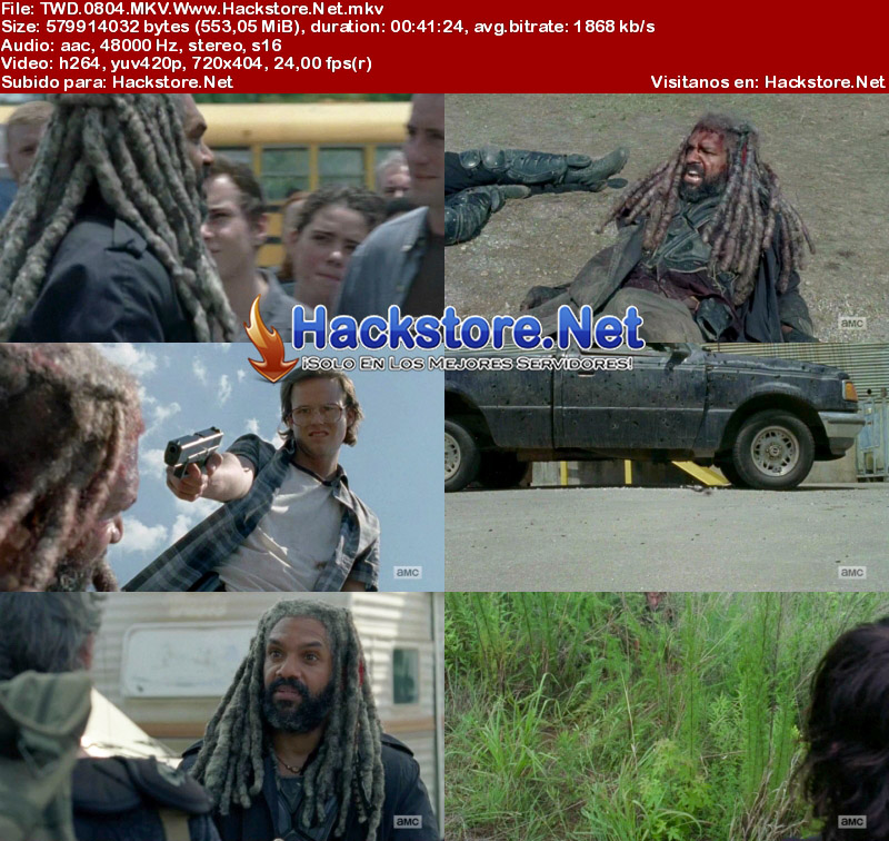 "Capturas de The Walking Dead 8×04 ""Some Guy"""