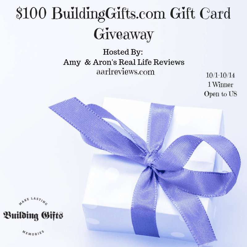 enter for a chance to win a 100 gift card to building gifts