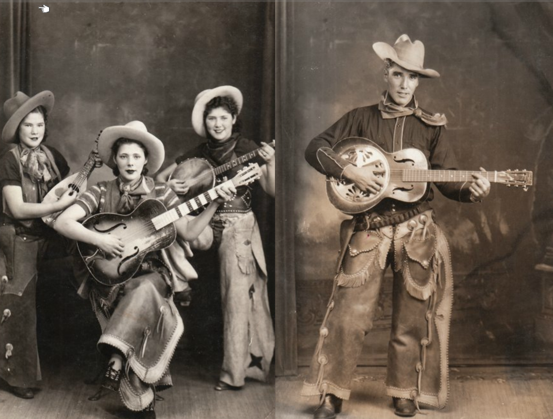 vernacular photographs cowboy retro country dull americana bulb archive linderman hillbilly horn dim tool history