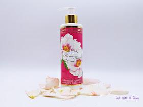 Pivoine Féerie Jeanne En Provence baño ducha hidratacion belleza sorteo beauty provenza peonia