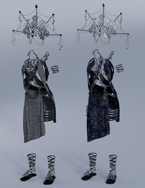 Mistress Arachne Outfit Textures