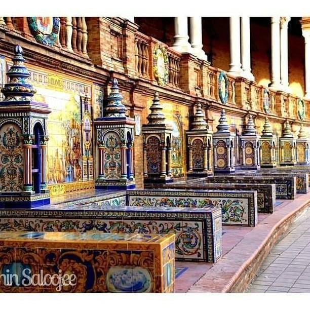 O que fazer em Sevilha em 1 dia? Plaza de España