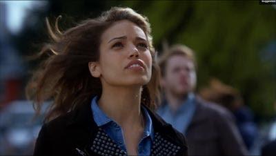 The Flash (2014), cameo de Hawkgirl interpretada por Ciara Renee