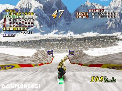 Cool Boarders Extreme Snowboarding PSX Sxreenshot