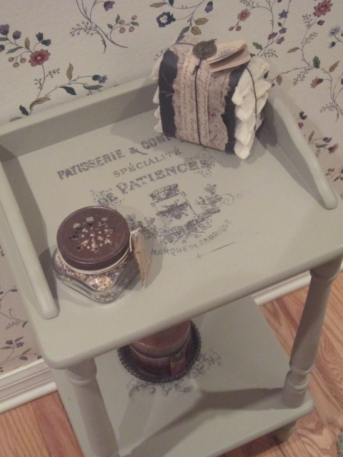The Altered Flea Thrift Store Table From Drab To Fab With