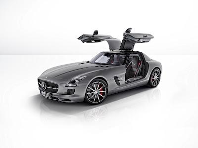 New Mercedes SLS AMG GT