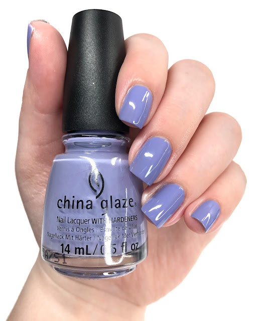 China Glaze Lavenduh! 25 Sweetpeas