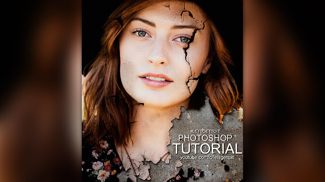 Create an Amzing Cracked Portrait Poster in Photoshop