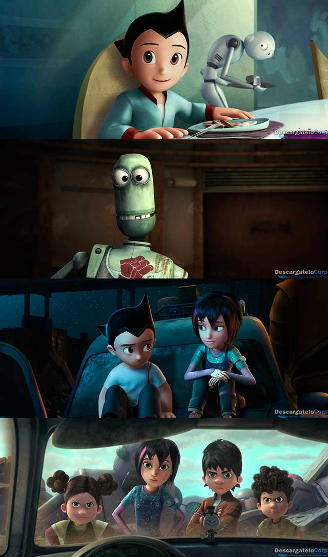 Astro Boy (Astroboy) (2009) HD 1080p Latino