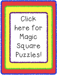 Magic Square Puzzles are a great way to engage students! Use them for review, early finishers, or center activities!