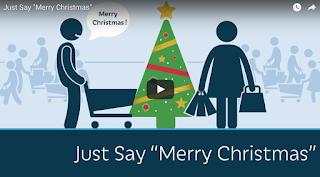 "Just Say ""Merry Christmas""-- PragerU Video"