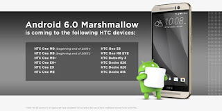 List Of HTC Phones That We Be Getting Android 6.0 Marshmallow Upgrades price in nigeria