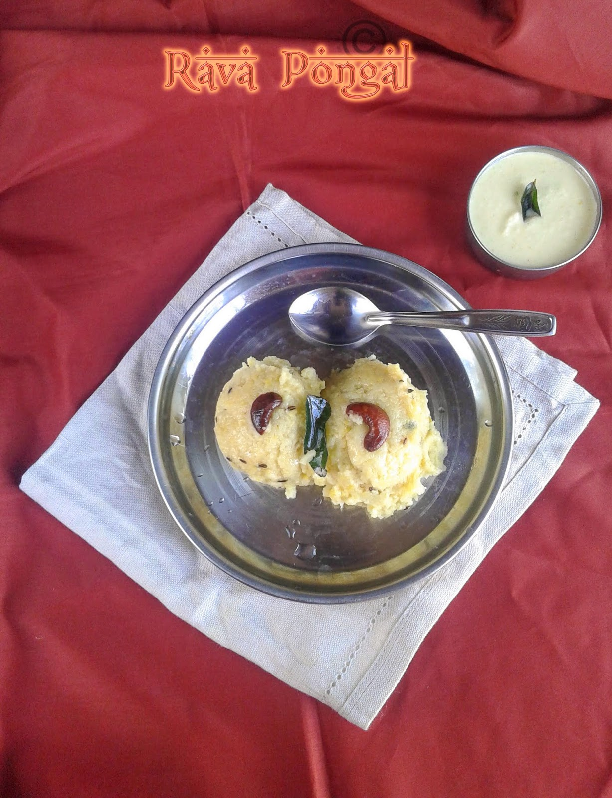 how-to-make-rava-pongal-restaurant-style