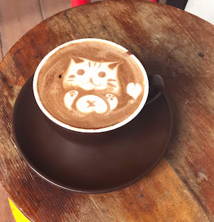 Animal Latte Art Cat