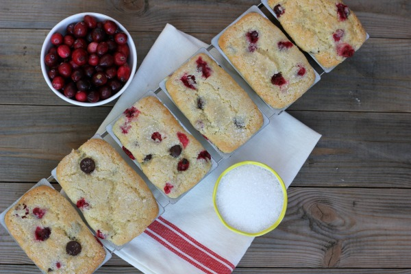 Cranberry Dark Chocolate Bread
