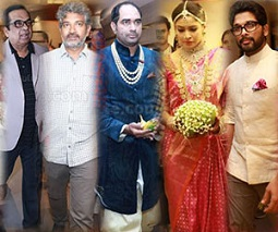 Photos: Tollywood Celebs At Krish Wedding
