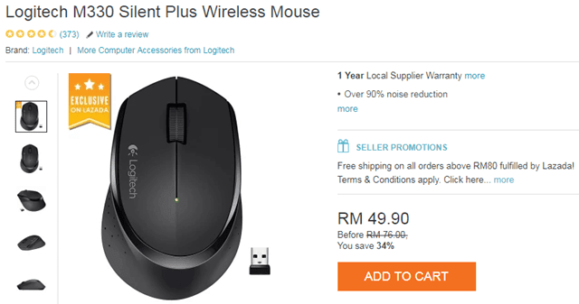 mouse tanpa bunyi