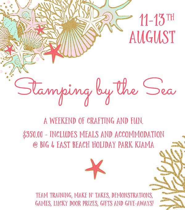 Louise Sharp: Stamping by the Sea Retreat
