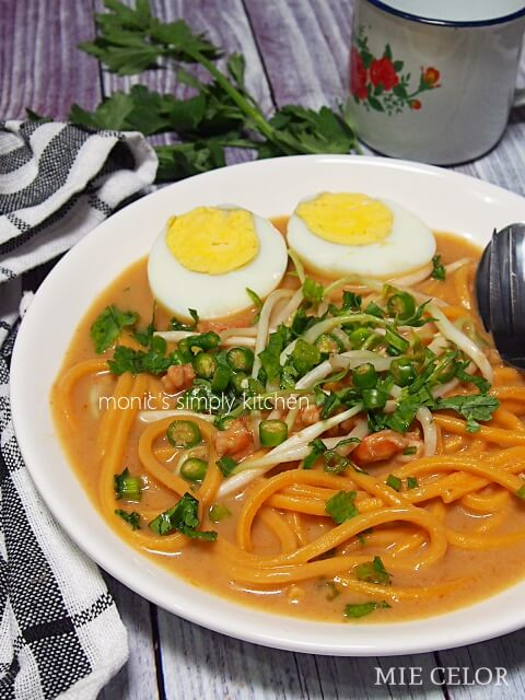 resep mie celor khas palembang