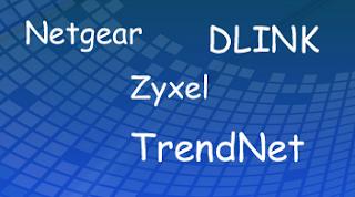 Техподдержка Netgear, Dlink, TrendNet и Zyxel
