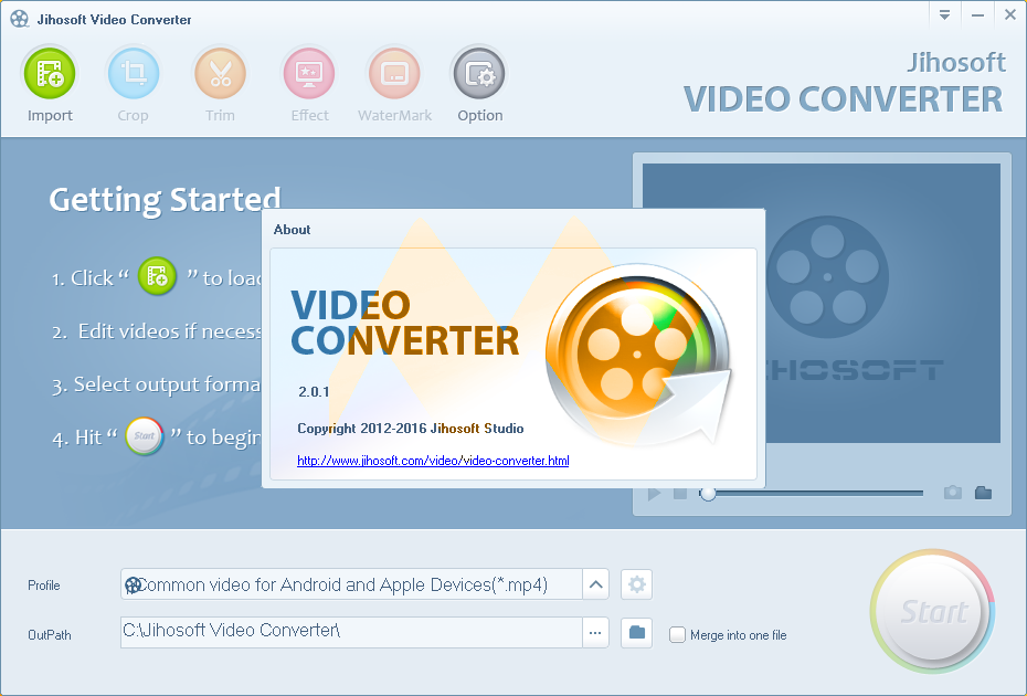 Jihosoft Video Converter 2