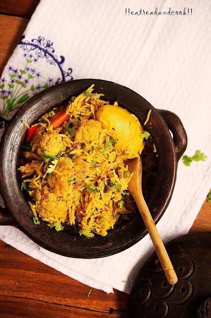 how to make veg biryani recipe and preparation