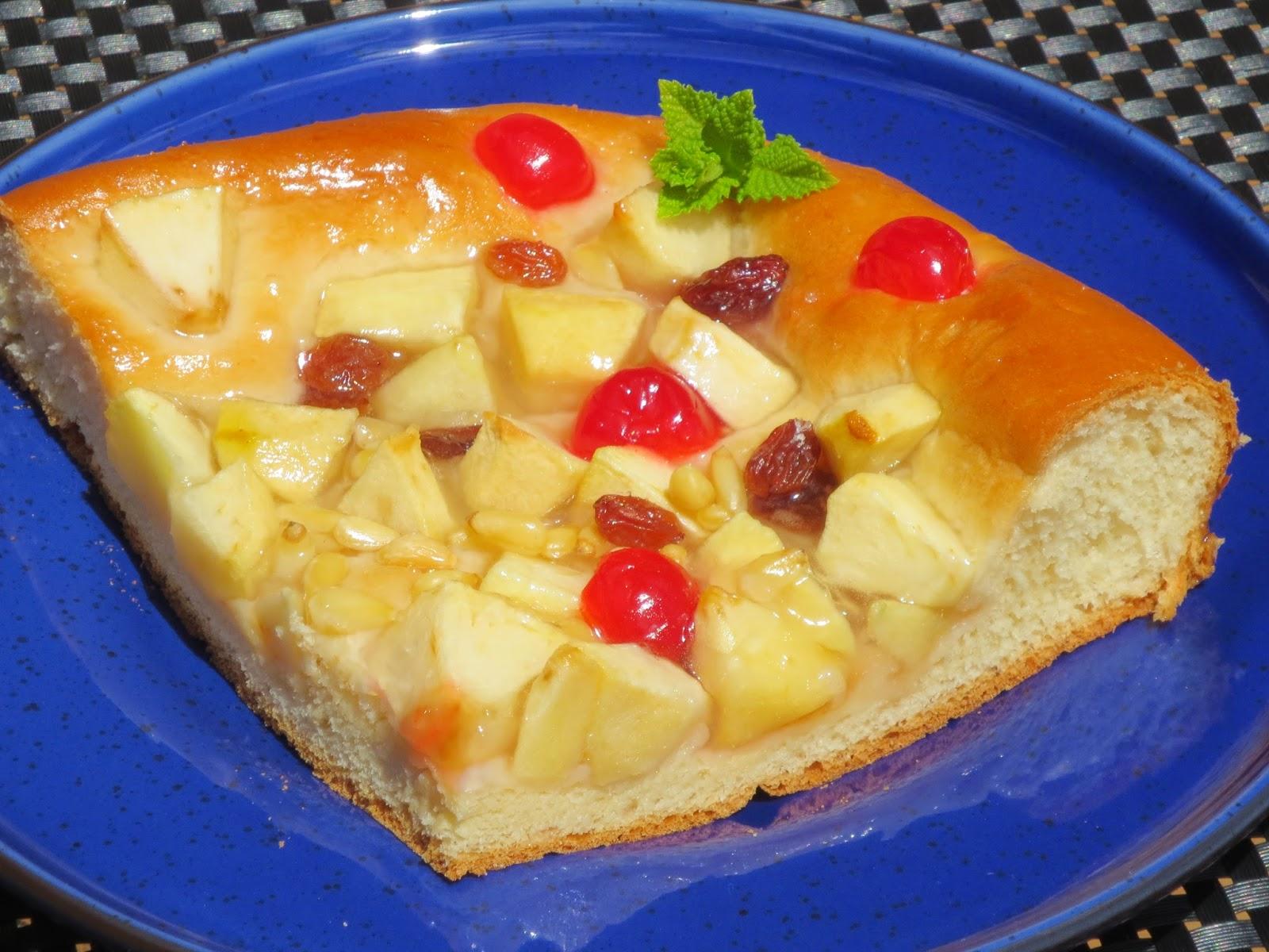 Coca de San Juan de manzana Ana Sevilla cocina tradicional