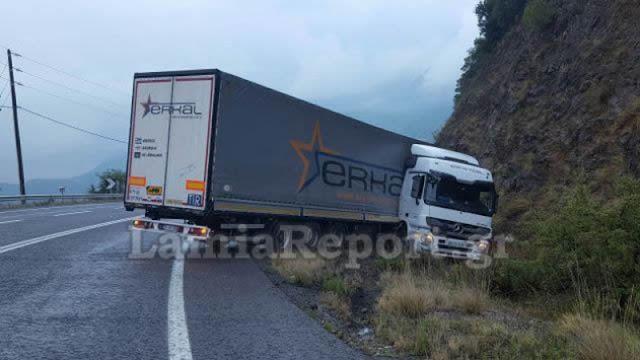 Τούρκος ο οδηγός νταλίκας που «δίπλωσε» στο Μπράλο. Δείτε το λόγο που το έπαθε, υπάρχει Θεός τελικά. (ΦΩΤΟ)