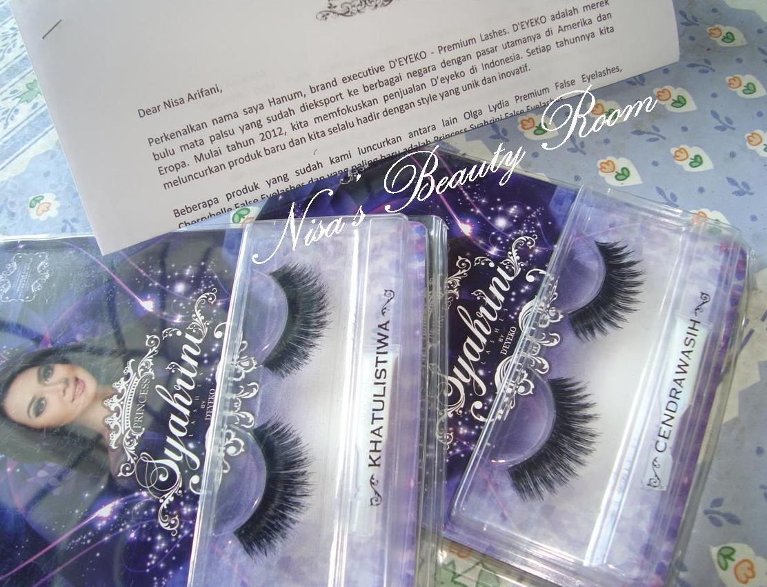 This is it Bulu Mata Cetar Membahana Anti Badai dari D'eyeko Princess Syahrini False Eyelashes