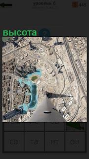 Высота башни с которой хорошо видна панорама города
