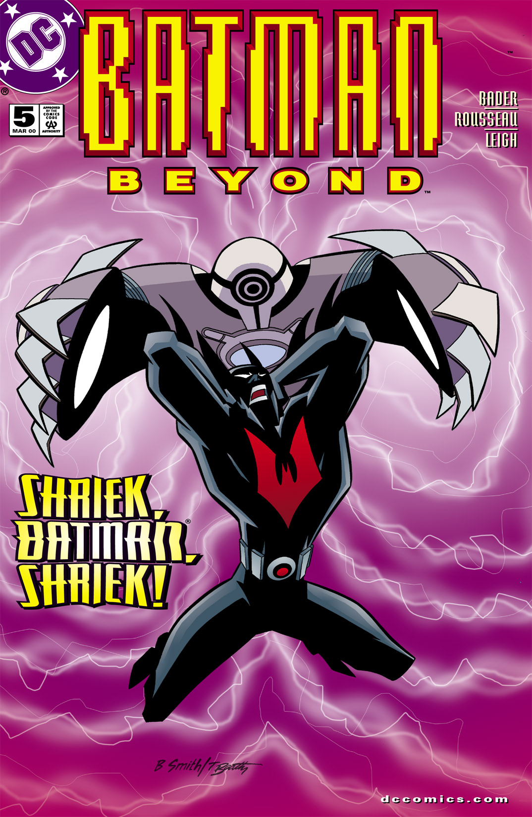 Batman Beyond [II] 5 Page 1