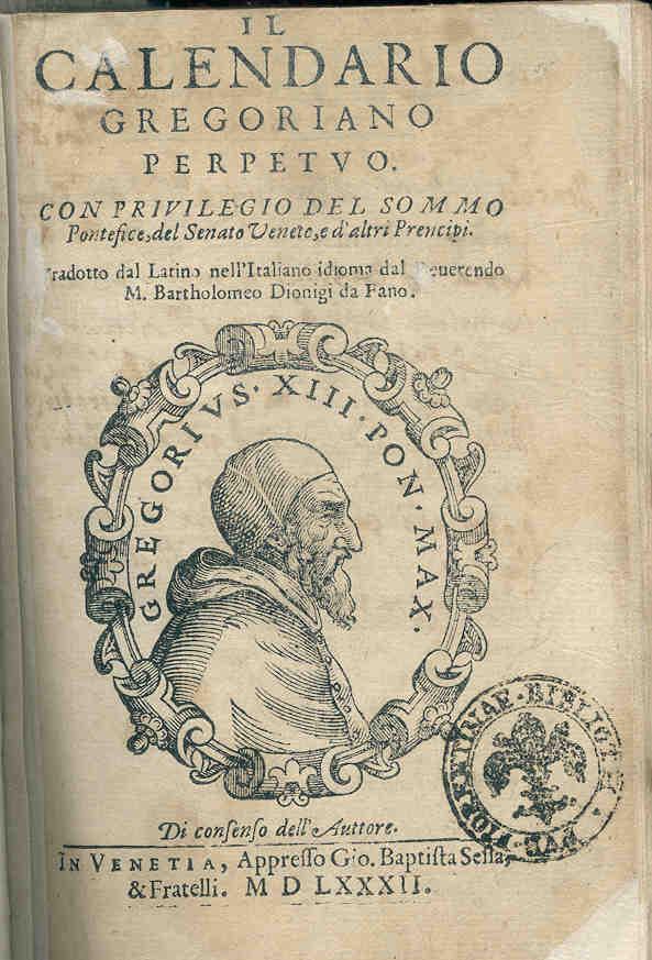 Calendario Gregoriano.Alobrandalise Voce Sabia