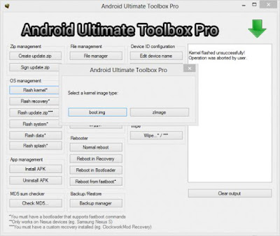 Android Ultimate Toolbox Pro Latest 2017 Free Download
