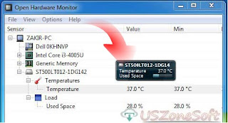Open Hardware Monitor 0.8.0 Download For Windows 10, 8, 7, Vista 32bit 64bit, Best Free Hardware Monitor Software, CPU Temp Monitor, computer temperature monitor, fan speeds, clock speeds, load speeds, voltages and all other CPU information or graphics processors reporter software