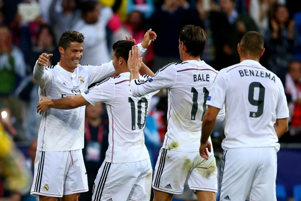 Madrid Menang Telak Atas Legia Warsawa Skor 5-1