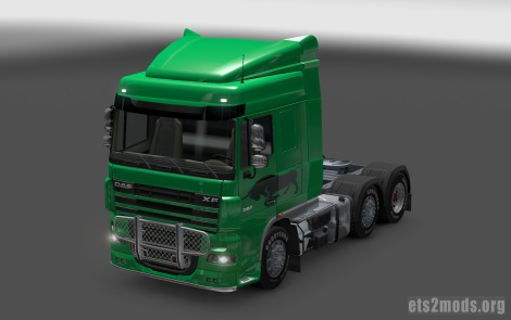Troy Transport Skin for DAF truck