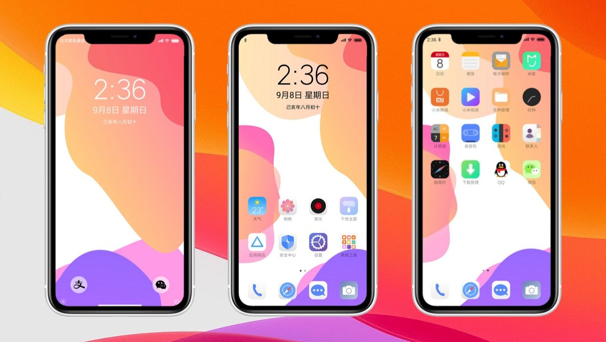 iOS 13 Theme for MIUI 10 | A Complete iOS Look for Xiaomi Device