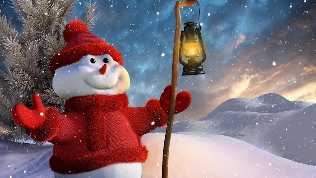 funny cute snowman christmas winter hd wallpaper picture image