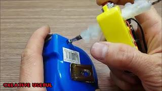 membuat sendiri obeng elektrik sederhana