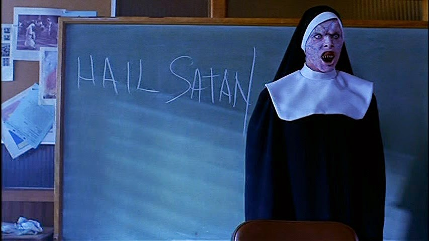 Nuns at the St. Francis Boarding School want their students to worship the Dark Lord in The Convent (2000)