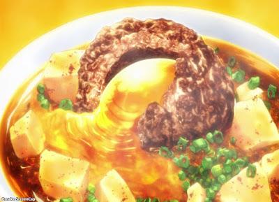 Image result for shokugeki no soma food curry mapo tofu