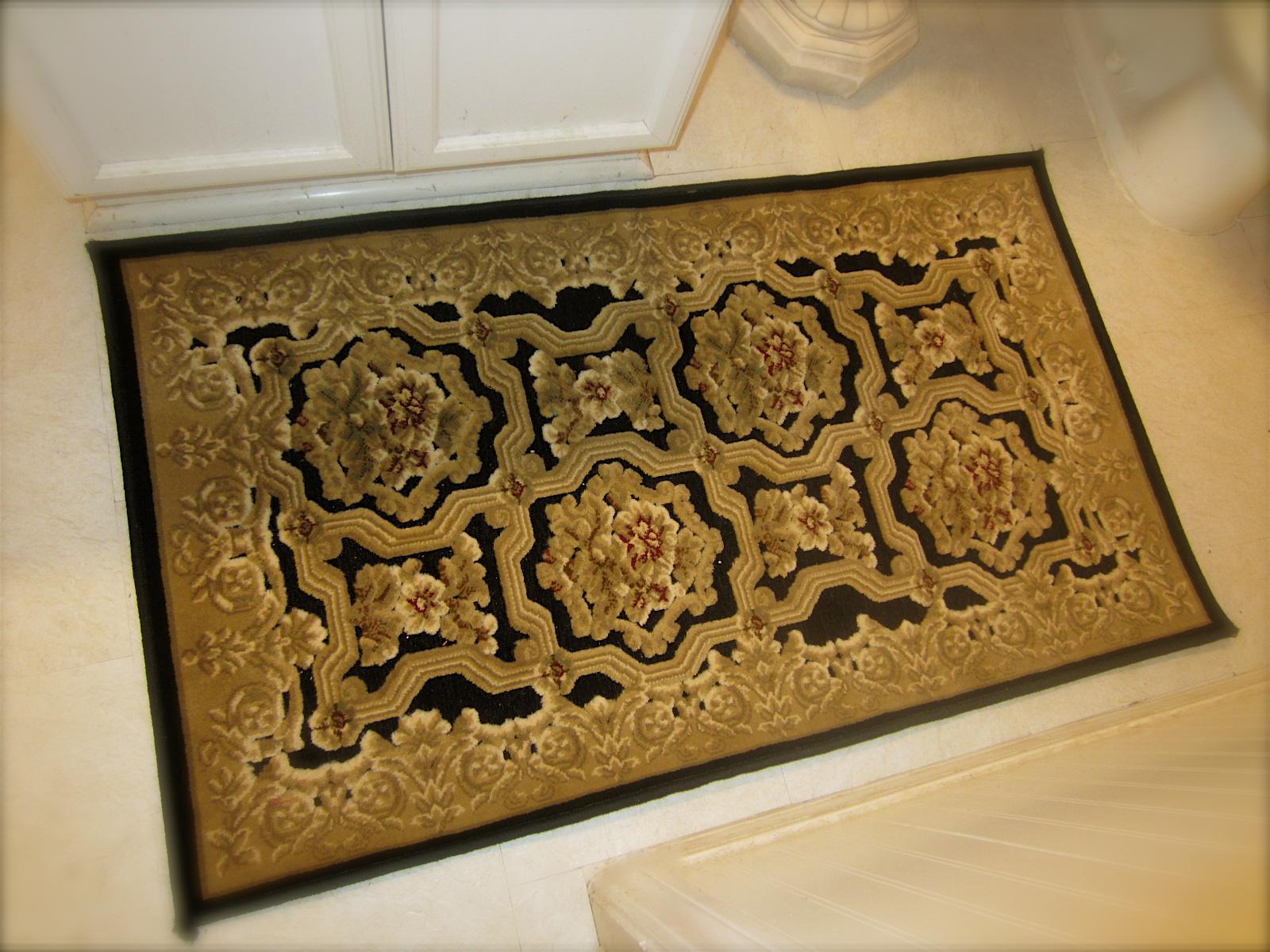 Gold Bathroom Mats