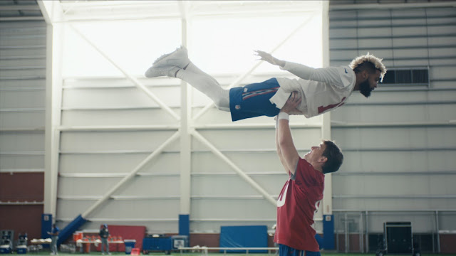 NFL Celebrates Touchdown Celebrations in Super Bowl LII Commercial