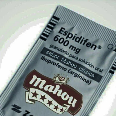 Espidifén, sabor Mahou clásica, ibuprofeno