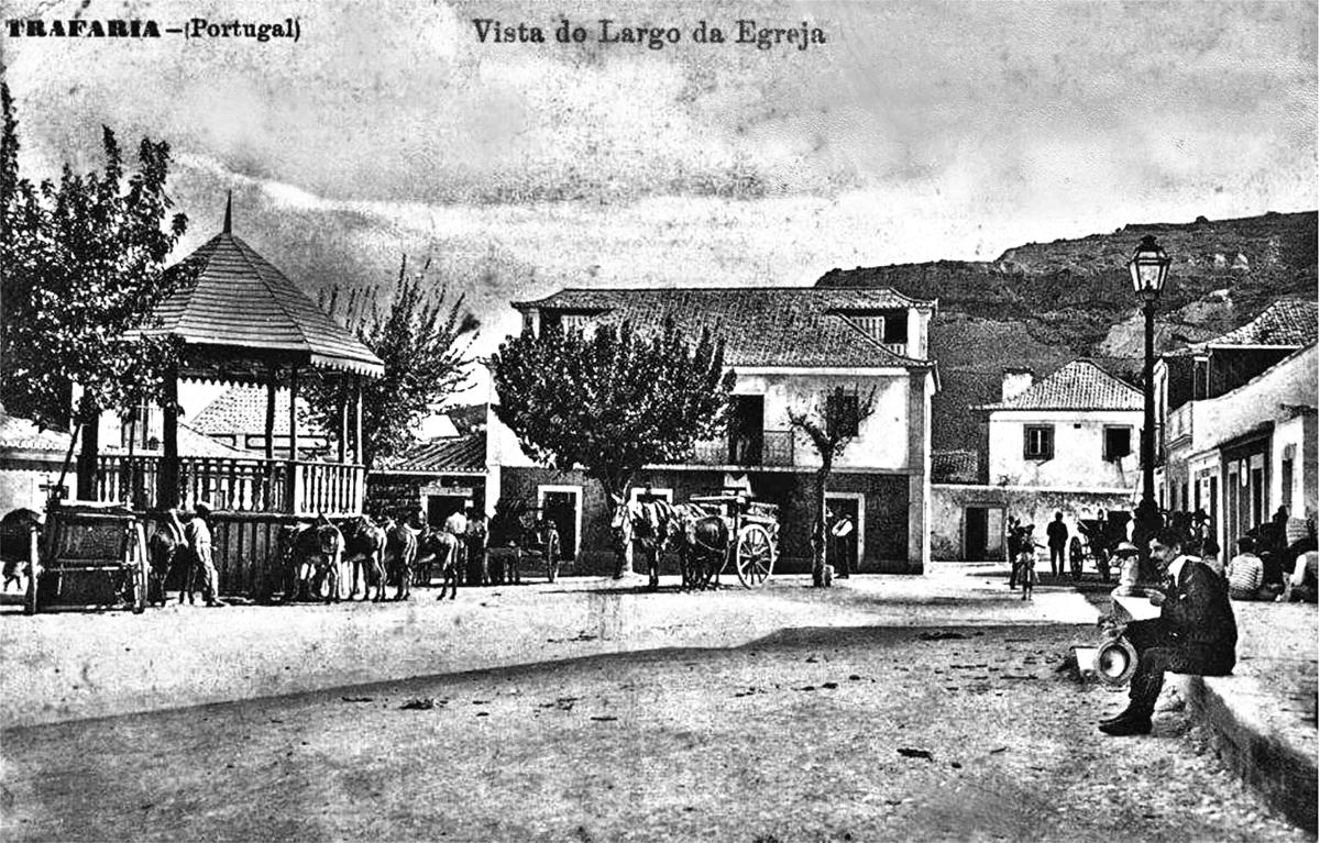 Mar de Caparica: A Trafaria em 1908