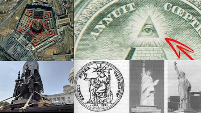 Paganismo moderno - Símbolos nos Estados Unidos