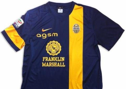 new style 09e76 76ee2 Franklin & Marshall diventa main sponsor dell'Hellas Verona ...