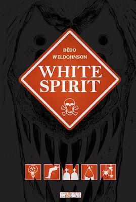 """couverture de """"WHITE SPIRIT"""" de Dédo et Weldohnson chez Delcourt"""